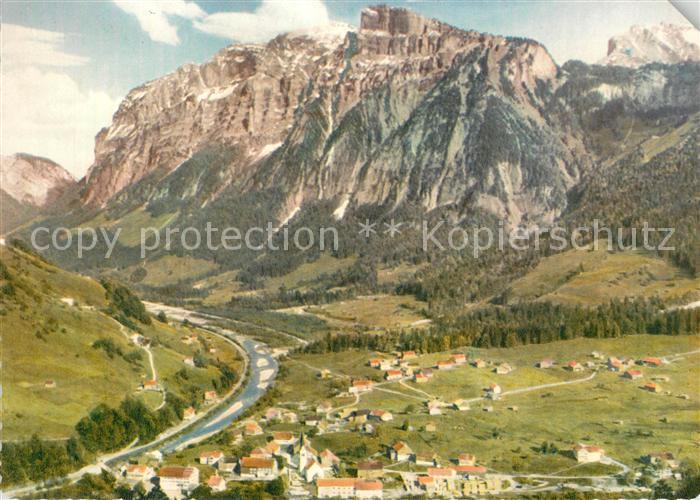 AK / Ansichtskarte Mellau_Vorarlberg Fliegeraufnahme mit Kanisfluh Bregenzer Wald Mellau_Vorarlberg 0