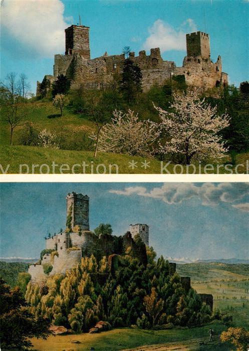 AK / Ansichtskarte Loerrach Burgruine Roetteln Loerrach 0
