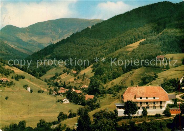 AK / Ansichtskarte Buerchau Berggasthof Pension Sonnhalde Buerchau 0
