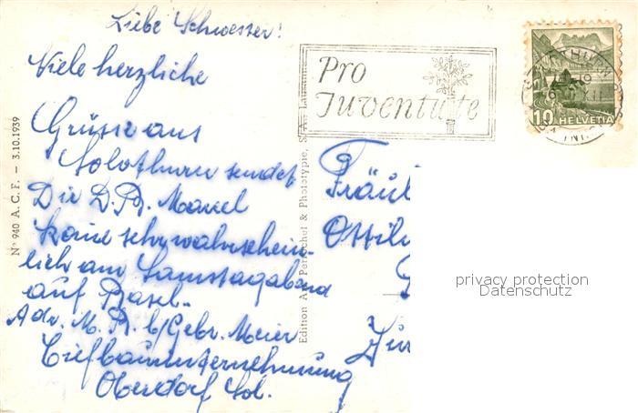 AK / Ansichtskarte Solothurn Roetibruecke Solothurn 1