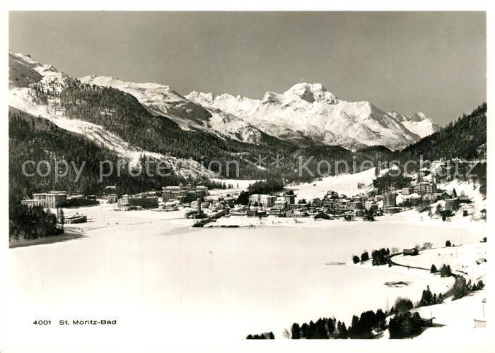 AK / Ansichtskarte St_Moritz_Bad_GR Panorama St_Moritz_Bad_GR 0