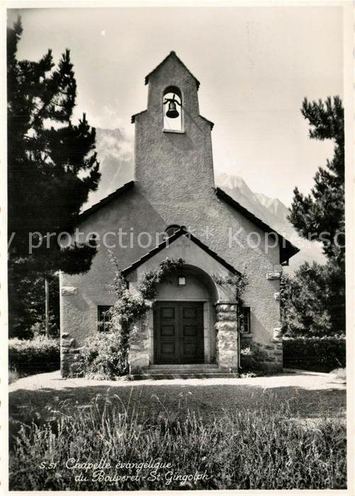AK / Ansichtskarte Bouveret_VS Chapelle evangelique St Gingolph Bouveret VS 0