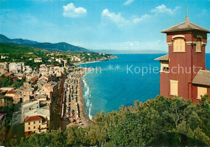 AK / Ansichtskarte Celle_Ligure Panorama visto da Bottini Celle_Ligure 0