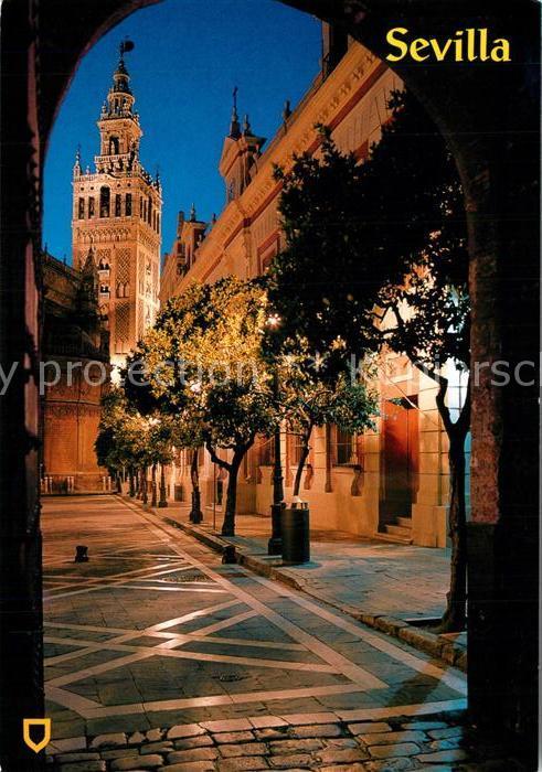 AK / Ansichtskarte Sevilla_Andalucia La Giralda Sevilla_Andalucia 0