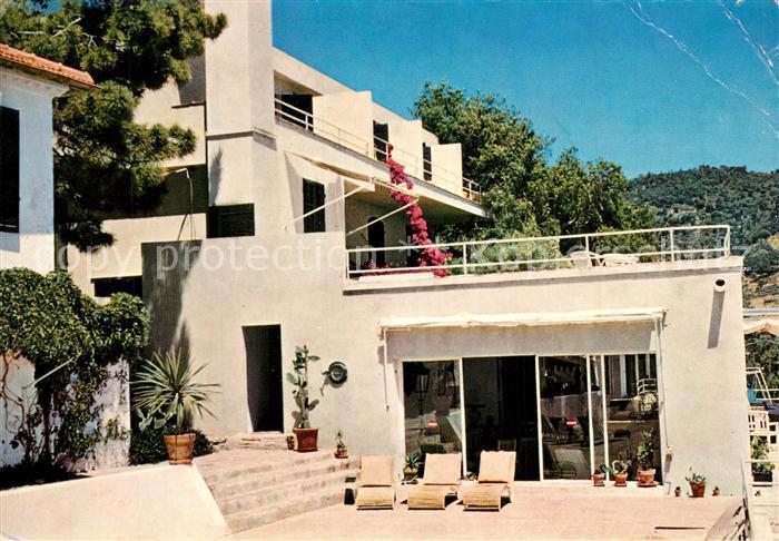 AK / Ansichtskarte Le_Lavandou Hotel Les Roches Fleuries Solarium Le_Lavandou 0