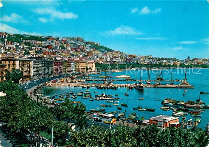 AK / Ansichtskarte Napoli_Neapel Mergellina Hafen Napoli Neapel 0