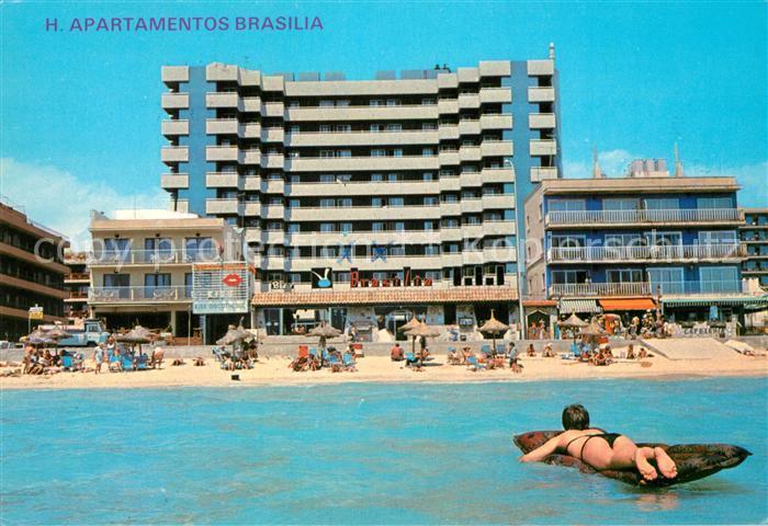 AK / Ansichtskarte Playa_de_Palma_Mallorca Apartamentos Brasilia Playa_de_Palma_Mallorca 0