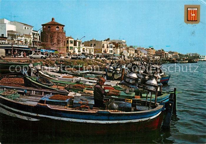 AK / Ansichtskarte Cambrils Barcas de pesca i passeig Cambrils 0
