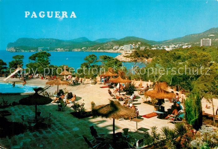 AK / Ansichtskarte Paguera_Mallorca_Islas_Baleares Panorama Paguera_Mallorca 0