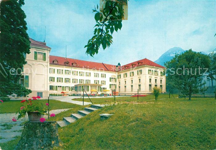 AK / Ansichtskarte Lavey les Bains Grand Hotel des Bains Lavey les Bains 0