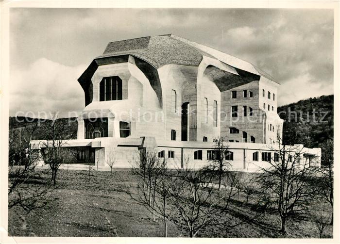 AK / Ansichtskarte Dornach_SO Goetheanum Dornach_SO 0