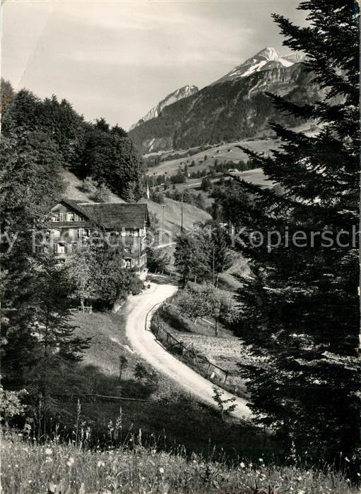 AK / Ansichtskarte Grabserberg Kurhaus mit Schafberg Grabserberg 0