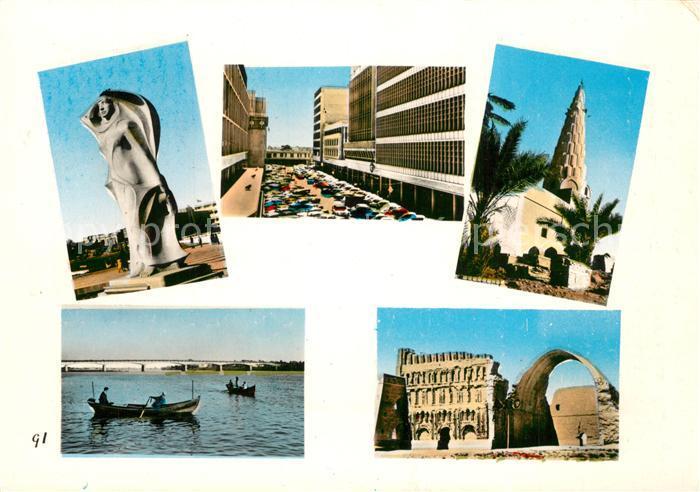 AK / Ansichtskarte Baghdad_Bagdad Rashid Street Teilansichten Baghdad Bagdad 0