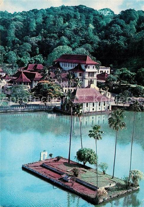 AK / Ansichtskarte Sri_Lanka Kandy Lake Sri_Lanka 0