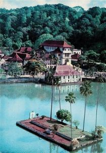 AK / Ansichtskarte Sri_Lanka Kandy Lake Sri_Lanka