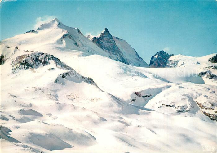 AK / Ansichtskarte Val_d_Isere La Grande Motte et la Grande Casse depuis le Bellevarde Val_d_Isere 0
