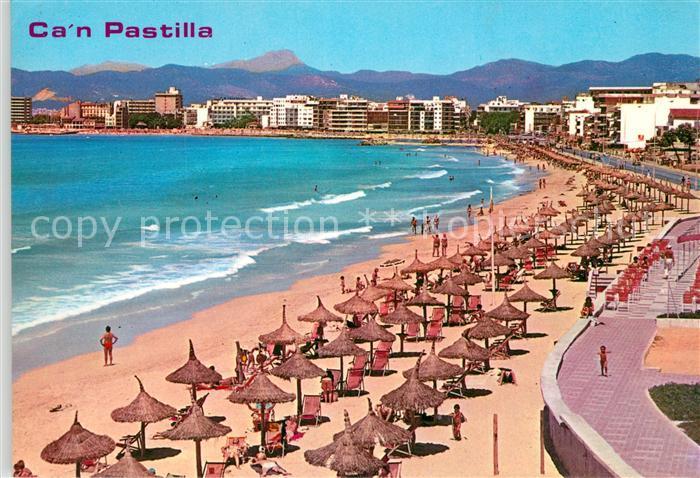 AK / Ansichtskarte Can_Pastilla_Palma_de_Mallorca Strandpartie Can_Pastilla 0
