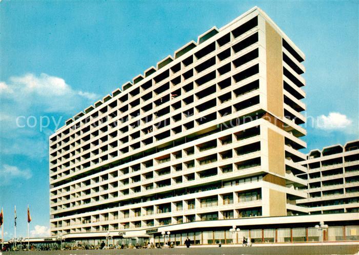 AK / Ansichtskarte Westerland_Sylt Kurzentrum Hotel Promenade Westerland_Sylt