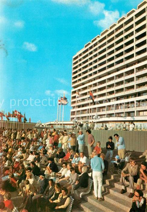 AK / Ansichtskarte Westerland_Sylt Kurzentrum Hotel Westerland_Sylt