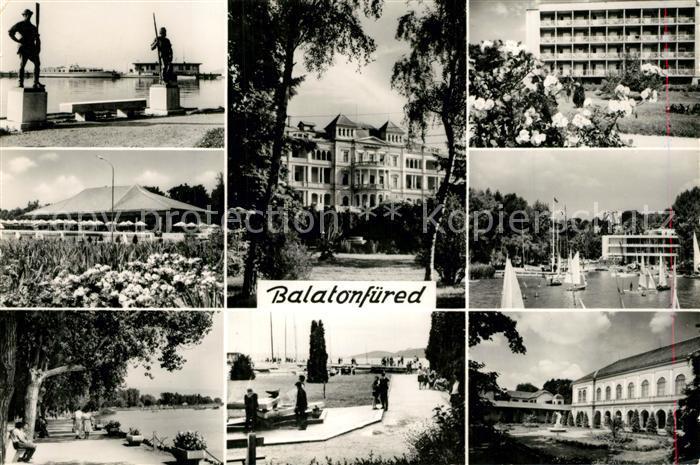 AK / Ansichtskarte Balatonfuered  Balatonfuered