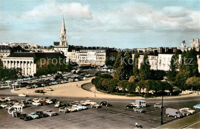 AK / Ansichtskarte Nantes_Loire_Atlantique Quartie de la Bourse Nantes_Loire_Atlantique