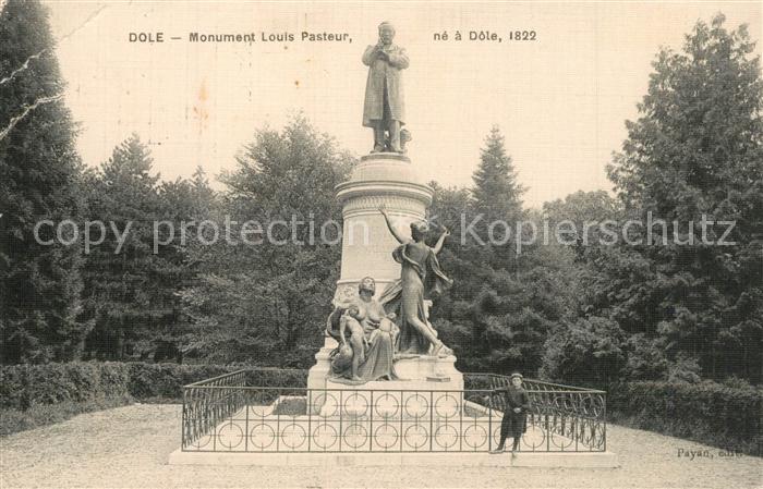 AK / Ansichtskarte Dole_Jura Monument Louis Pasteur Dole_Jura