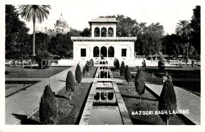 AK / Ansichtskarte Lahore Hazoori Bagh Lahore