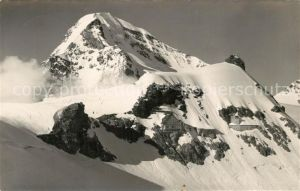 AK / Ansichtskarte Jungfraujoch Berghaus und Forschungsinstitut Moench und Sphinx Jungfraujoch