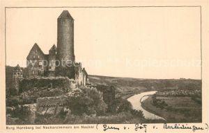 AK / Ansichtskarte Neckarzimmern Burg Hornberg am Neckar Neckarzimmern