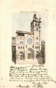 AK / Ansichtskarte Genova_Genua_Liguria Chiesa di San Lorenzo Genova_Genua_Liguria