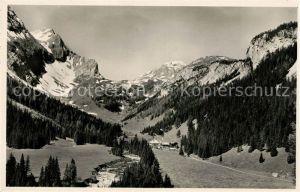 AK / Ansichtskarte Lenk_Simmental Landschaftspanorama Ifigenalp Alpen Lenk Simmental