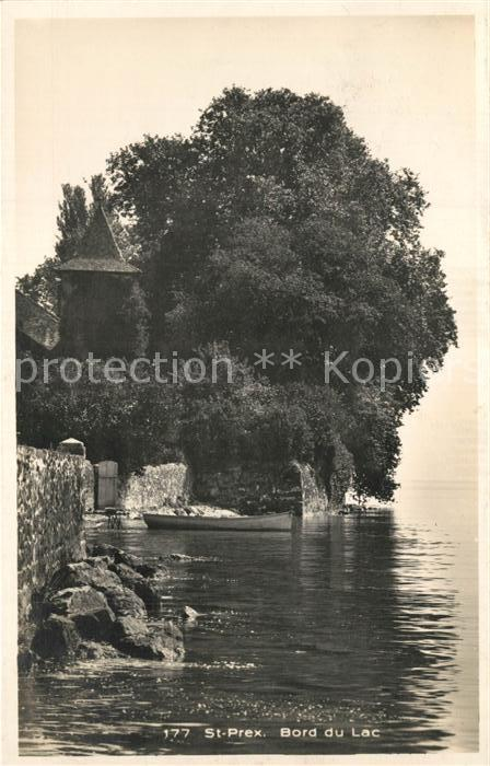 AK / Ansichtskarte Saint_Prex Bord du Lac