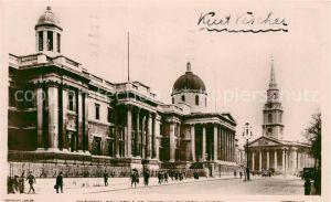 AK / Ansichtskarte London National Gallery London