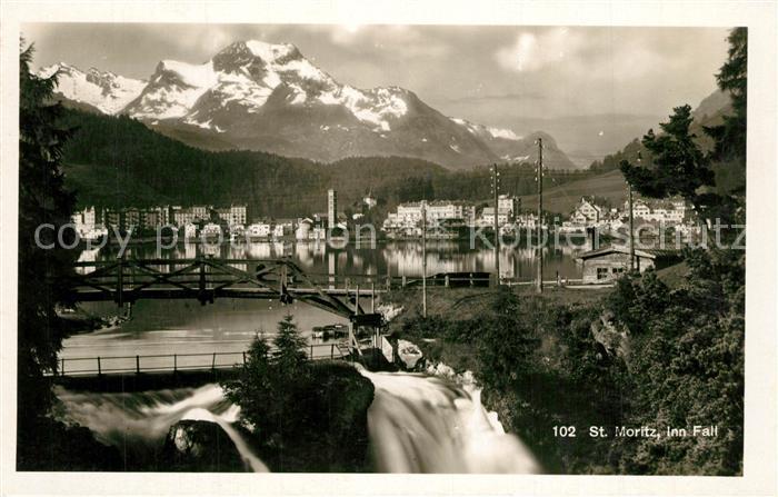 AK / Ansichtskarte St_Moritz_GR Inn Fall St_Moritz_GR