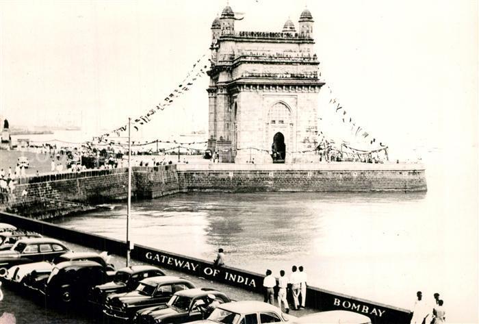AK / Ansichtskarte Bombay_Mumbai Gateway of India  Bombay Mumbai