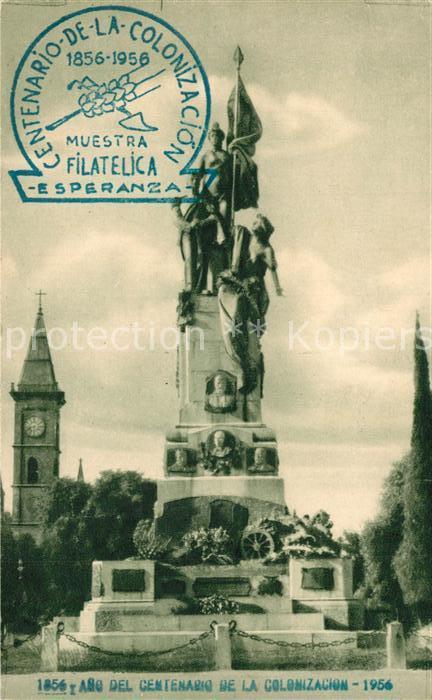 AK / Ansichtskarte Buenos_Aires Monumento a la Agricultura Centenario de la Colonizacion Buenos Aires