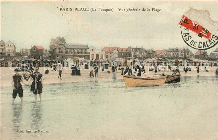 AK / Ansichtskarte Paris Plage Strandleben Paris Plage