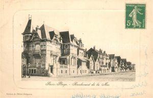 AK / Ansichtskarte Paris Plage Boulevard de la Mer Paris Plage