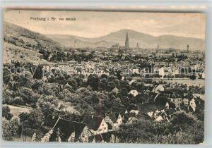 AK / Ansichtskarte Freiburg_Breisgau Blick vom Hebsack Freiburg Breisgau