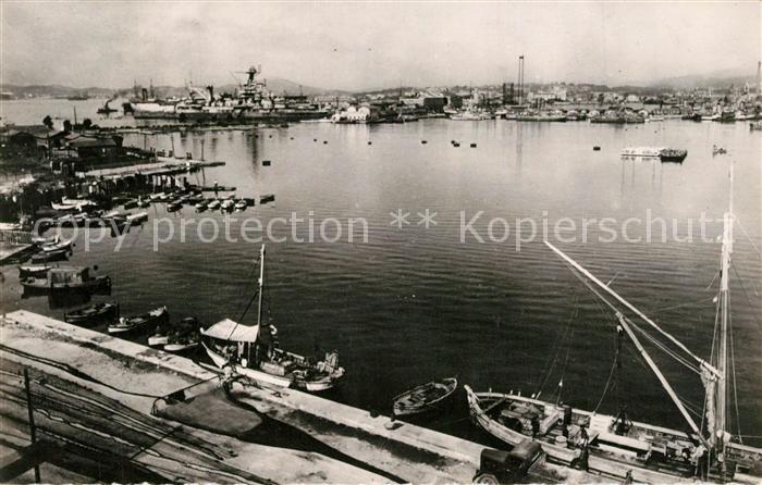 AK / Ansichtskarte Toulon_Var Le Petit Rang Port Toulon_Var