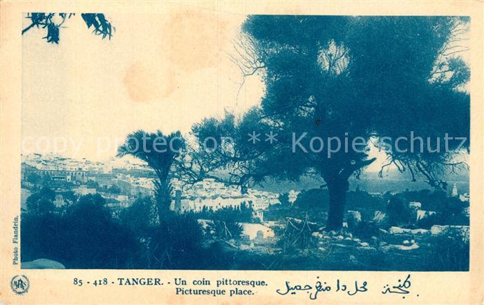 AK / Ansichtskarte Tanger_Tangier_Tangiers Un coin pittoresque Tanger_Tangier_Tangiers