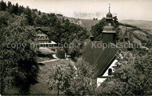 AK / Ansichtskarte Hergiswald Kurhaus und Wallfahrtskirche Hergiswald