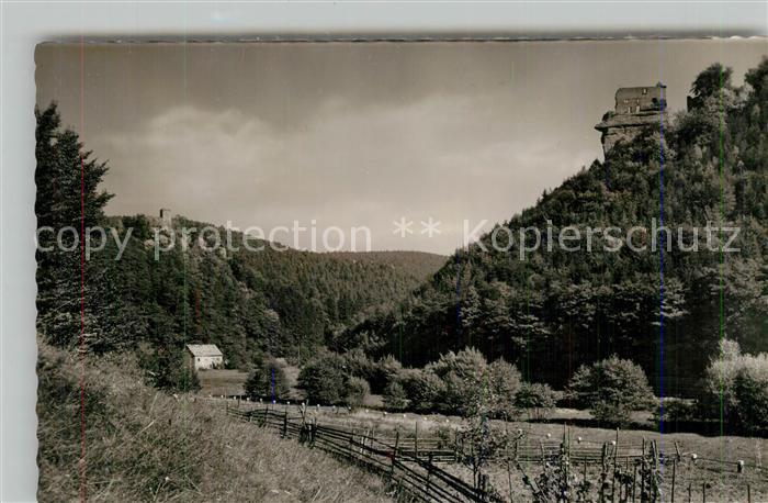 AK / Ansichtskarte Erfenstein Ruine Spangenburg Erfenstein