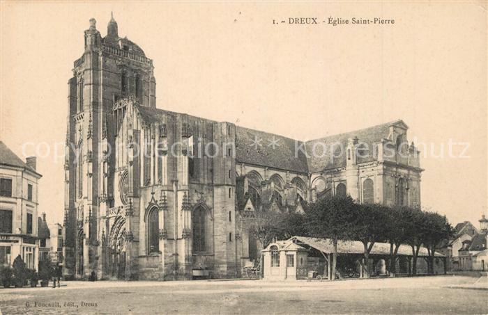 AK / Ansichtskarte Dreux Saint Pierre Dreux