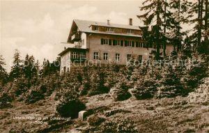 AK / Ansichtskarte Warmensteinach Unterkunftshaus am Ochsenkopf Warmensteinach