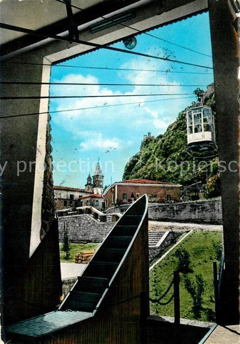 AK / Ansichtskarte San_Marino_Repubblica Bergbahn San_Marino_Repubblica
