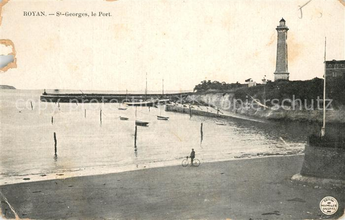 AK / Ansichtskarte Royan_Charente Maritime Saint Georges Port Royan Charente Maritime