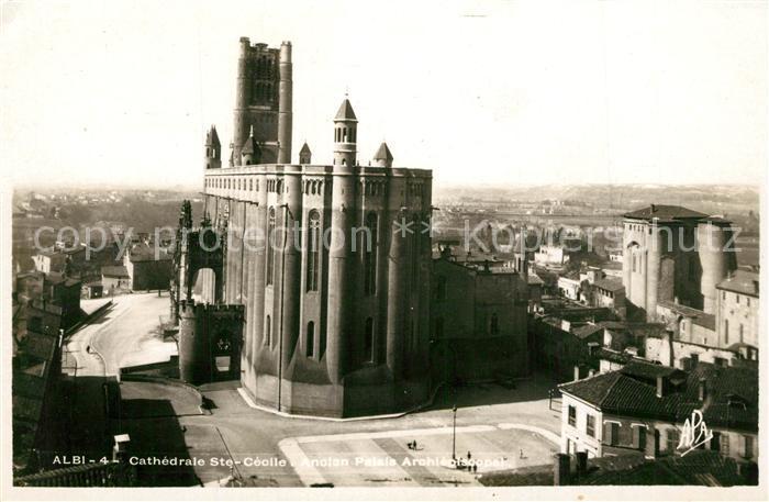 AK / Ansichtskarte Albi_Tarn Cathedrale Sainte Cecile Albi_Tarn