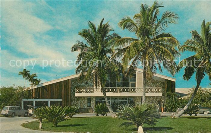 AK / Ansichtskarte Nassau_Bahamas Coral Harbour Club Nassau Bahamas