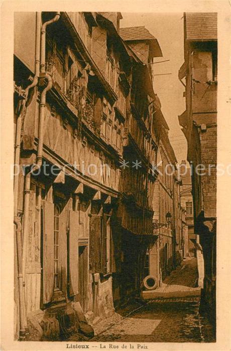 AK / Ansichtskarte Lisieux Rue de la Paix Lisieux